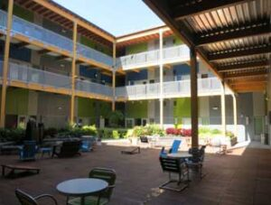 Interbay Lofts Courtyard
