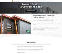 Fossatti Pawlak Website Redesign